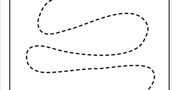Tracing Curved Lines Kindergarten Basic Skills Fine Motor