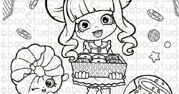Shopkins Shoppies Coloring Pages Collection