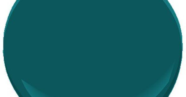 dark turquoise living room walls one sofa 2054-20 beau green | benjamin moore, paint colors ...