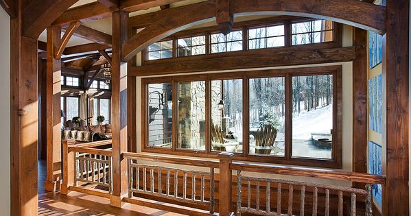 Timber Frame Interior Arch My Humble Abode Someday