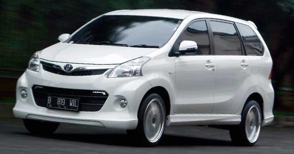 Modifikasi Toyota Avanza Veloz Putih Sporty  Modif Mobil