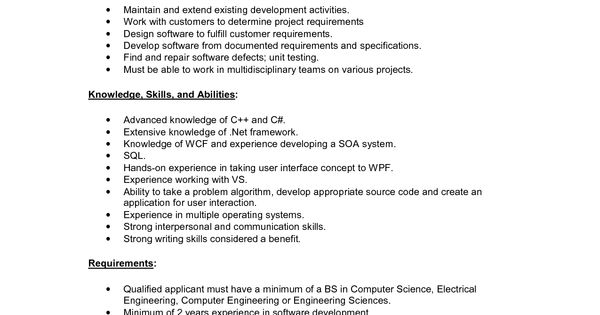 Software Developer Careers Free Software Developer Careers