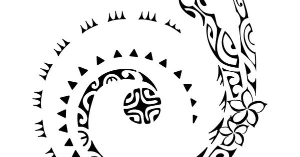 Koru sunmoon. All is possible. The elements of this tattoo