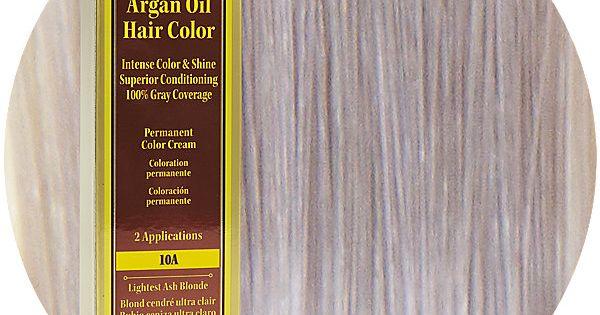 10A Lightest Ash Blonde Permanent Hair Color Cream Light