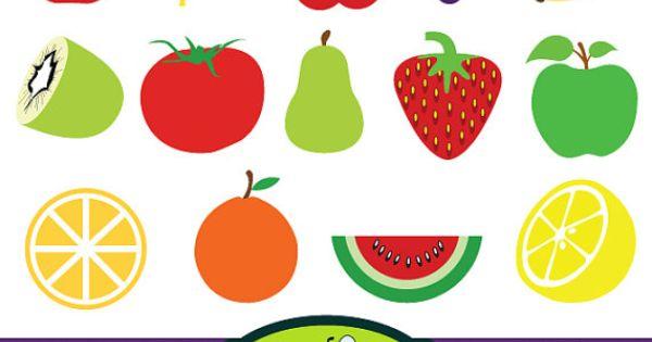 fruit clip art digital clipart