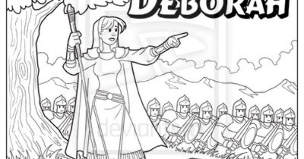 Deborah coloring page by ArtistXero.deviantart.com on