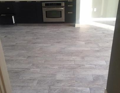 kitchen floor tiles home depot table lights marazzi montagna dapple gray 6 in. x 24 porcelain ...