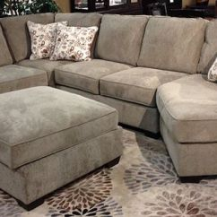 Ashley Cohes Sofa Chaise Baxter Chester Moon Sizes Patola Park - Patina Sectional With A Stylish Contemporary ...