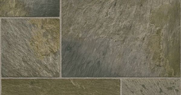 Tarkett 12ft W Whale Grey Tile Finish FiberFloor Sheet