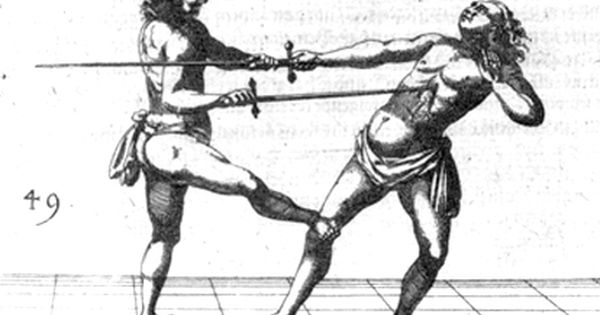 Rapier illustration #fencing #esgrima #duel #rapier #