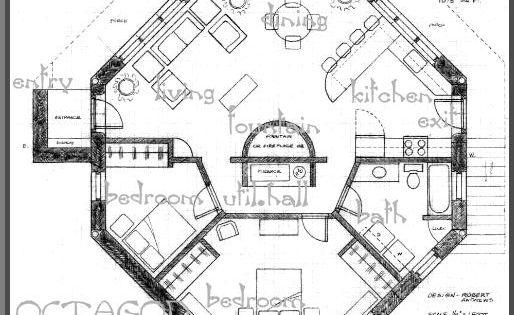 Octagon Floor Plans Unique House Plans Octagon Floor
