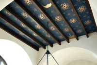 Star-painted ceiling in blue and gold | Decor: Modern ...