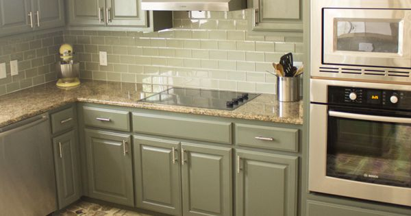 Our Exciting Kitchen Makeover Before and After  Cabinet