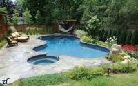 Back Yard Swimming Pool Designs | ... swimming pool there ...
