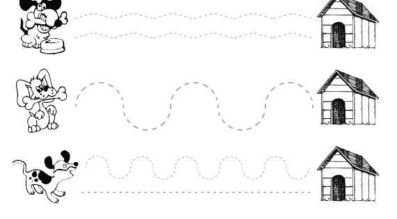 Actividades/grafomotricidad/10-worksheets-de