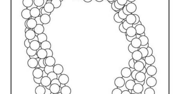 Mardi Gras Beads Coloring Sheet Sketch Coloring Page