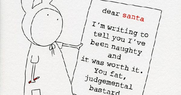 10+ Hilariously Rude Christmas Cards For People With A