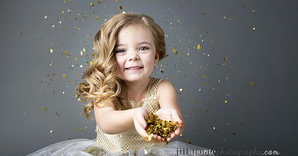 Children Photography Glitter Gray Child Gold For More