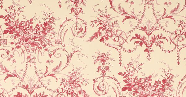 Tuileries Cranberry Wallpaper at Laura Ashley  Lounge