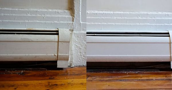 Step by Step How To Paint Metal Baseboard Heater Covers  Baseboard heater covers and Baseboard