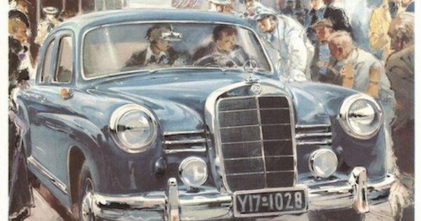 MercedesBenzWerbung von 1954  MercedesBenz Vol04 AD