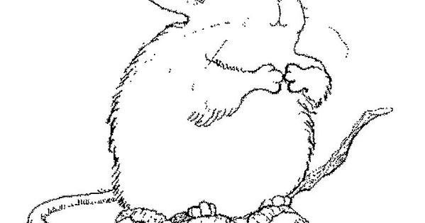 printable coloring page for Mrs. Frisby. Taking it on our