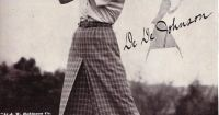 1920s Female Golfer | The Great Gatsby// Jordan Baker ...