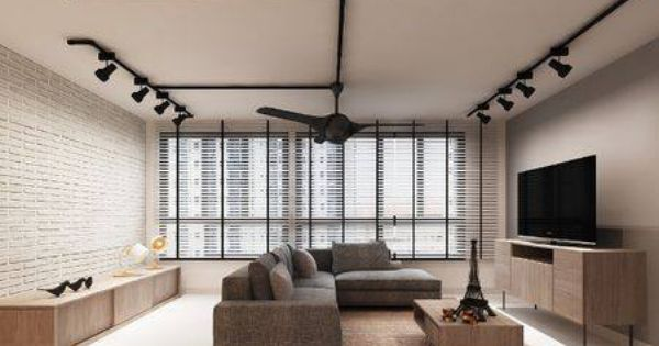 sofas singapore 299 sofa nashville black track lights + brick wall grey = want ...