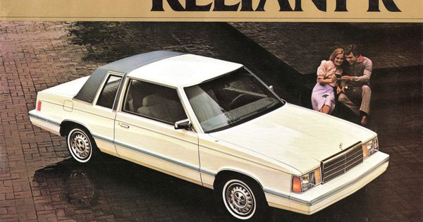 8 Plymouth Reliant K One Of The Quot K Car Quot Series From Chrysler These Boxy Vehicles Looked Like