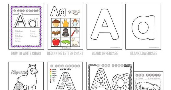 650+ Page Alphabet Curriculum. No Prep Letter of the Week