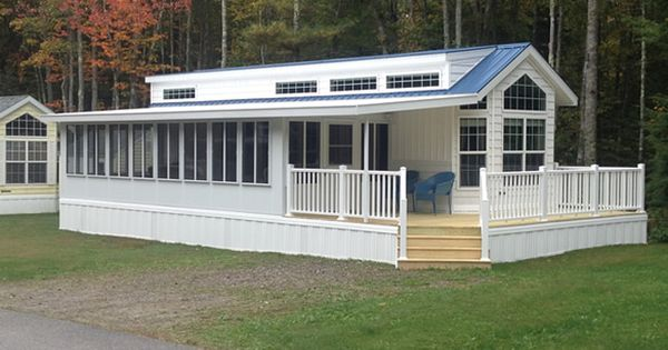 Angled roof over sunroom  RV  camping  Pinterest