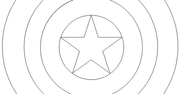 Captain America Shield Coloring Pages 1000+ images about