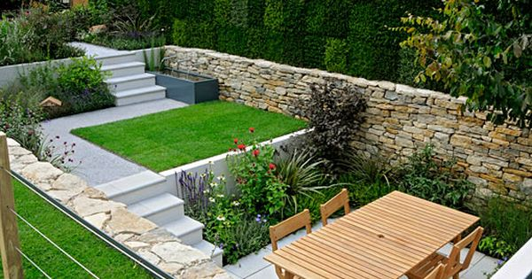 Small Garden Designed By Will Quarmby At Hampton Court Flower Show