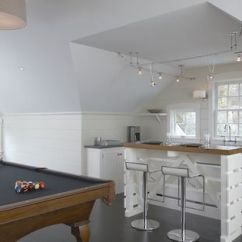 Tables For Small Kitchen Spaces Cabinets Denver A Kitchenette With Island Is Handy In Bonus Room That ...