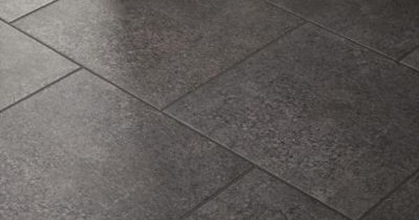 gray tile kitchen floor renovation on a budget marazzi eclectic vintage charcoal concrete 12 in. x in ...