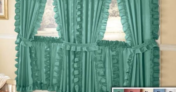 Cape Cod Style Curtains  My style  Pinterest  Country