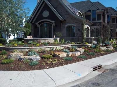 Corner Lot Landscaping Design Is A Little Different Than A Normal