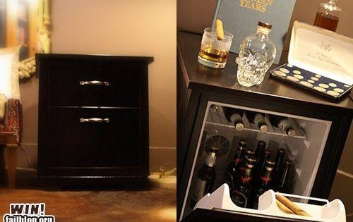 Nightstand Refrigerator Win Bedroom Pinterest A