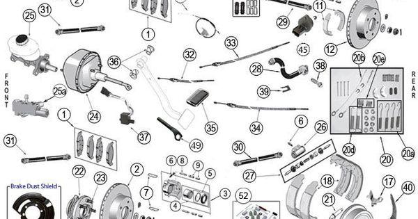 Grand Cherokee ZJ Brake Parts|93-98 Grand Cherokee|Morris