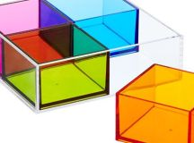 Square Acrylic Trays | Acrylics, Maximize space and Square ...