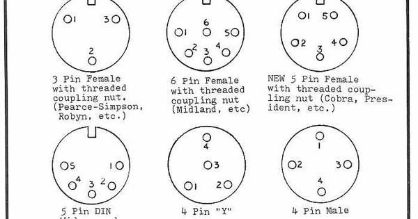 4 Pin Cb Microphone Wiring Codes, 4, Free Engine Image For