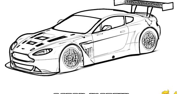 #Aston _Martin Vantage GT3 (Side View)... You Can Print