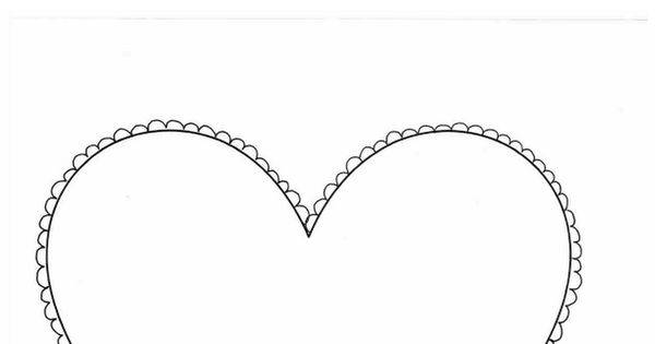 Handprint Heart Templatepdf Art Projects For Kids