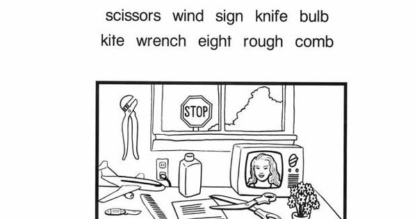 Silent Consonants Worksheet. This will help students