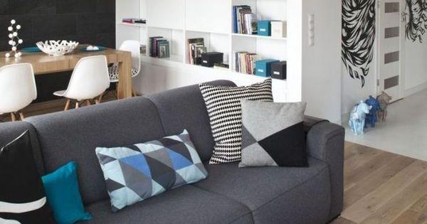 ikea sofa bef natuzzi leather quality dekovorschläge wohnzimmer essbereich schwarze akzentwand ...
