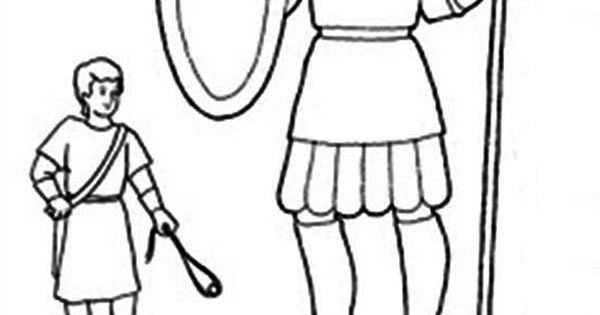 coloring sheets for david and goliath 1 Coloring Pages