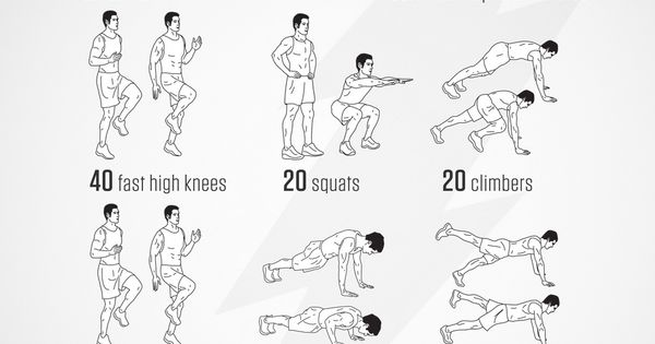 No-equipment bodyweight FLASH workout for all fitness