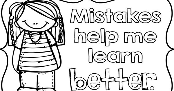 Growth Mindset coloring pages for your students