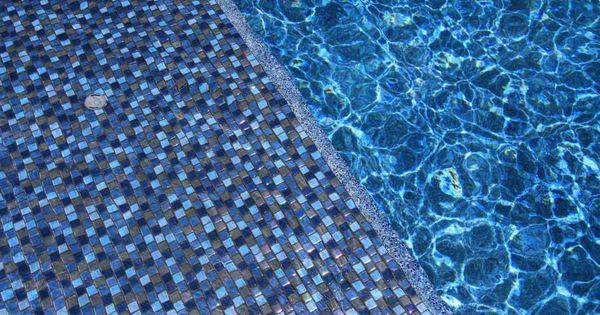 Jules Rustic Blue 1x1 Glass Tile Npt HomePool Remodel