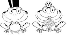 valentinesdaysweetheartfrogscoloringpage Frogs